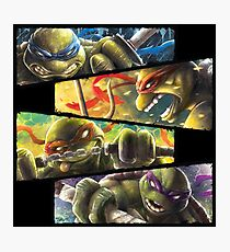 TMNT - Turtle Power Photographic Print