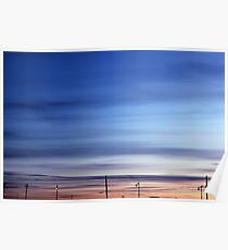 Evening Sky | Rocky Point, New York  Poster
