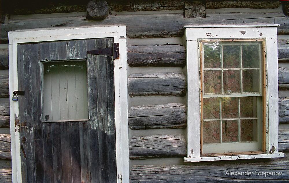 Old House by Alexander Stepanov