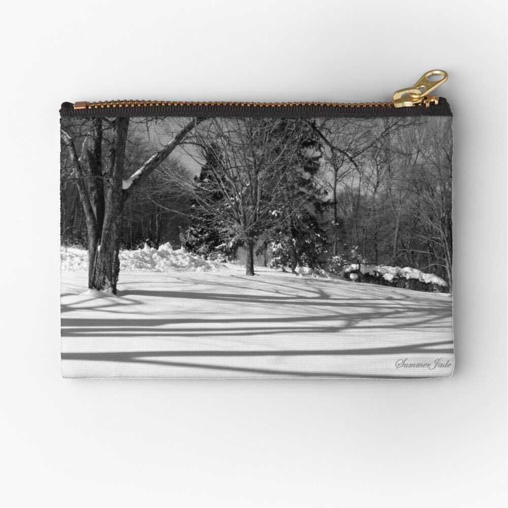 That Cold Winter Sun ~ On Snow Zipper Pouch