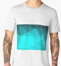 Mosaic triangle bright trendy pattern Men's Premium T-Shirt