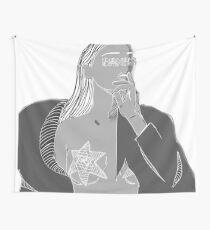 hernameisbanks - dissolved  Wall Tapestry