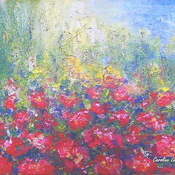 Geranium in my Garden by CarolineLembke