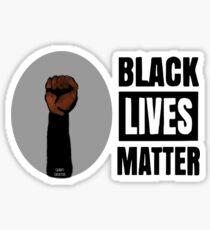 BLM Black Power Black Lives Matter Original Artwork Sticker