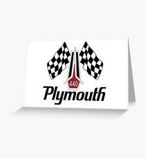 Plymouth 440 Greeting Card