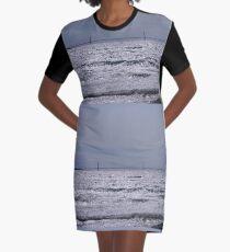 Mackinac Bridge  Graphic T-Shirt Dress