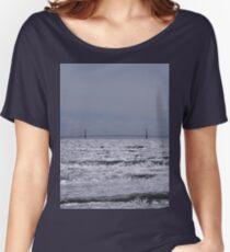 Mackinac Bridge  Women's Relaxed Fit T-Shirt