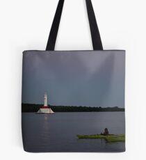 Sunset Views from Mackinac Island Tote Bag