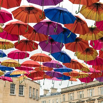 Bath's colourful Umbrellas! by CarolynEaton