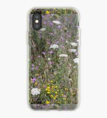 Mackinac Island Wildflowers iPhone Case
