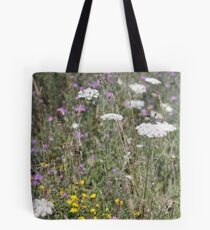 Mackinac Island Wildflowers Tote Bag