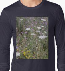 Mackinac Island Wildflowers Long Sleeve T-Shirt