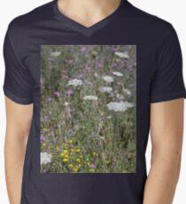Mackinac Island Wildflowers Men's V-Neck T-Shirt
