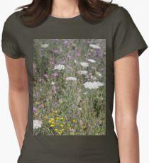 Mackinac Island Wildflowers Women's Fitted T-Shirt