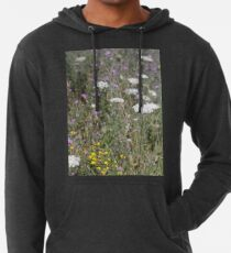 Mackinac Island Wildflowers Lightweight Hoodie
