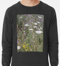Mackinac Island Wildflowers Lightweight Sweatshirt