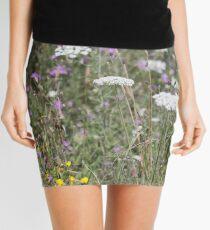 Mackinac Island Wildflowers Mini Skirt