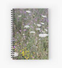 Mackinac Island Wildflowers Spiral Notebook