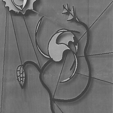 Flower Grey by JPPreston