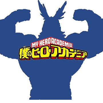 All Might - My Hero Academia by AtrouneH