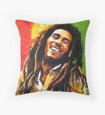 marley bob Throw Pillow