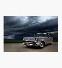 '56 Bel Air Classic Photographic Print