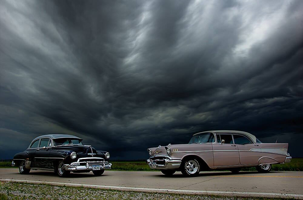 '54 Chevy Deluxe & '56 Bel Air Custom by block33