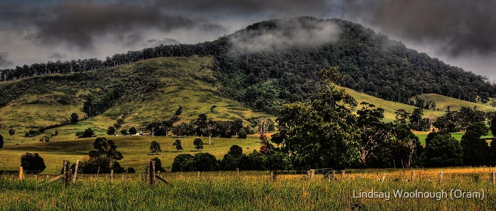 Mountain Fog by Lindsay Woolnough (Oram)