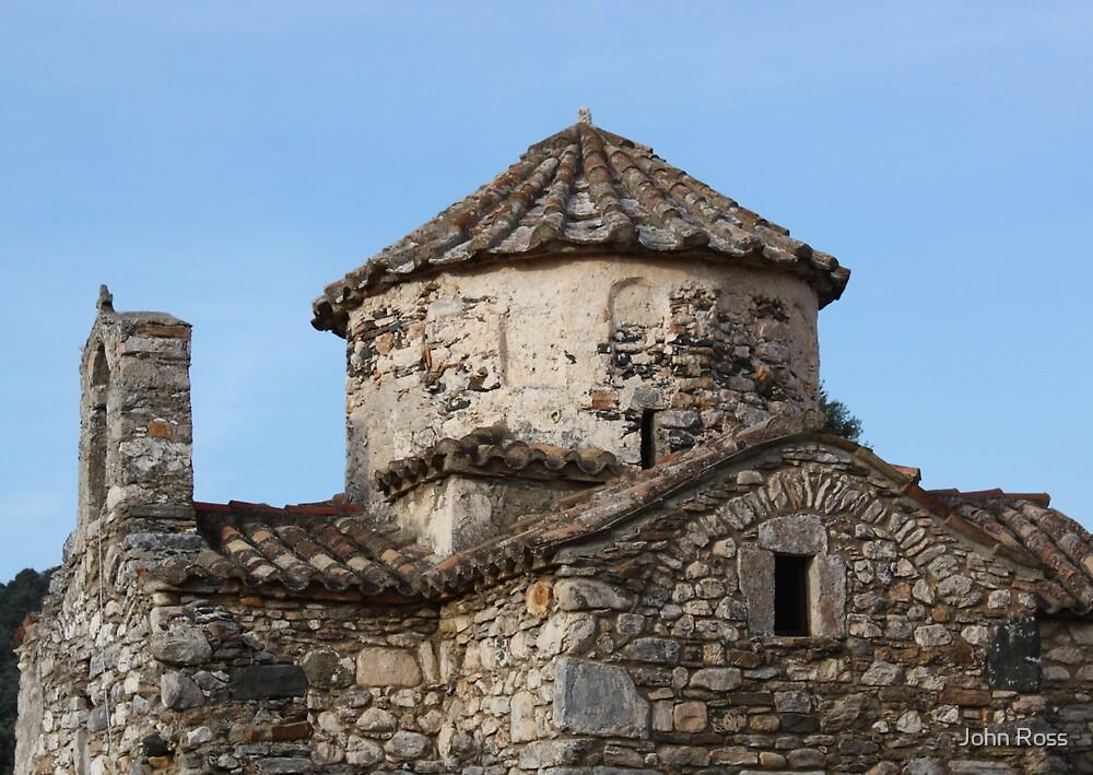 ancient church by John Ross