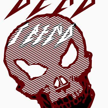 Dead Trend (Evil Skull) Metallica Font by RazorbladeTrend