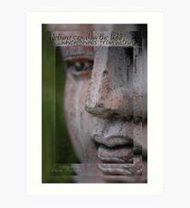 Shine Buddha © Vicki Ferrari Photography Art Print