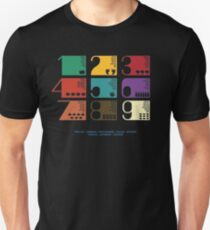 Numbers on different languages-educative Unisex T-Shirt