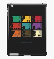 Numbers on different languages-educative iPad Case/Skin