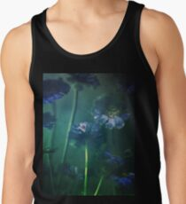 Blue Scabiosa Tank Top