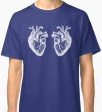 Two Hearts - Doctor Who - White Classic T-Shirt