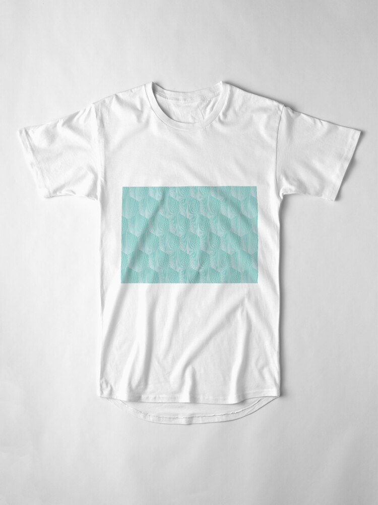 Vista alternativa de Camiseta larga Abstract octagone pattern