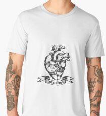 Tied Human Heart Men's Premium T-Shirt
