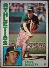 359 - Steve McCatty by Foob's Baseball Cards