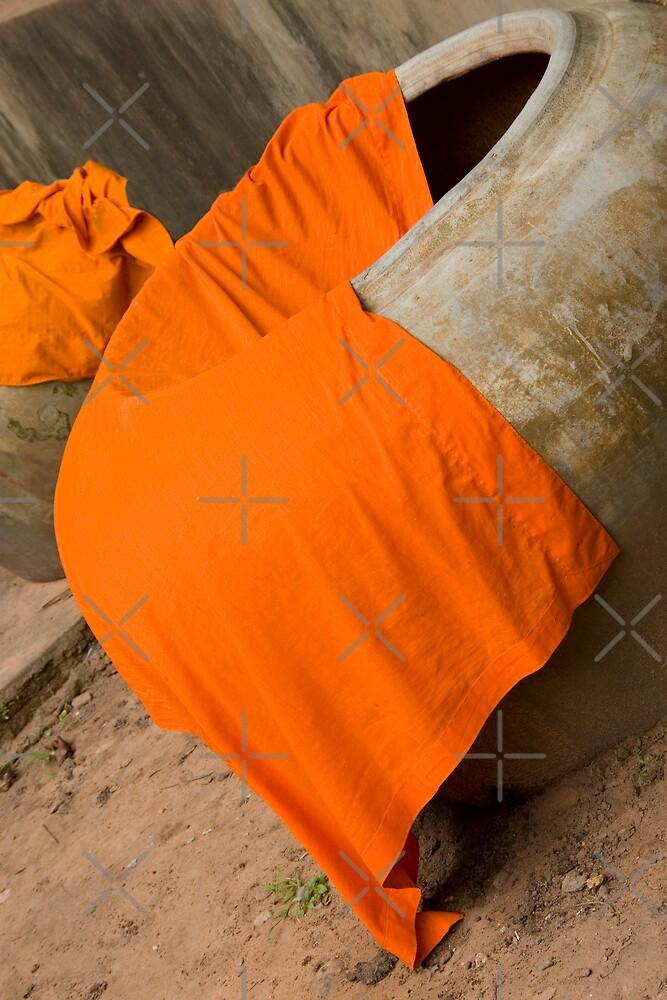 Saffron Robes at Lo Lei by Adrianne Yzerman