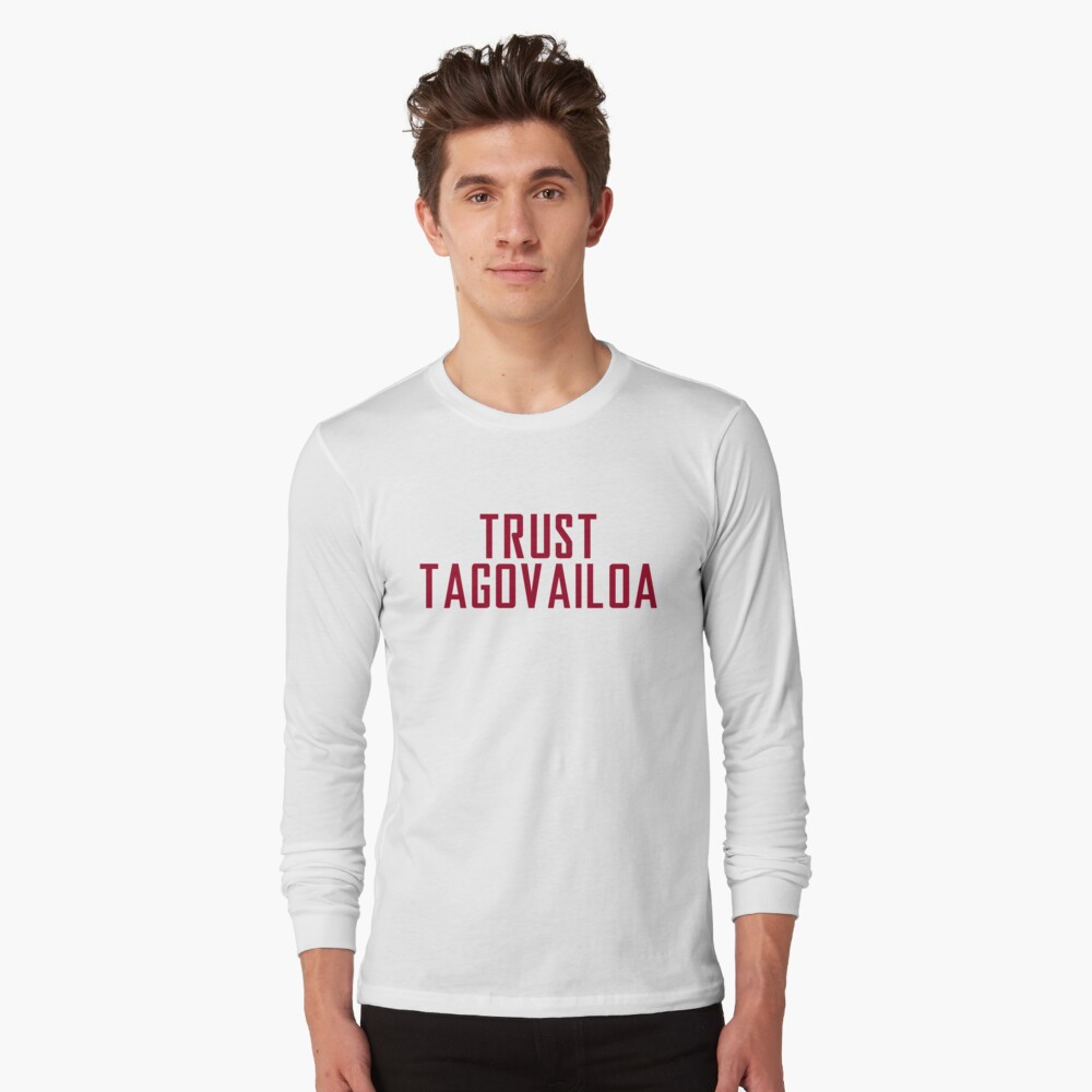 Trust Tagovailoa Bama Football Championship Long Sleeve T-Shirt