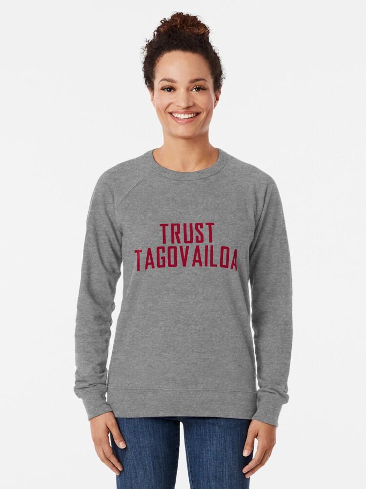 Alternate view of Trust Tagovailoa Bama Football Championship Lightweight Sweatshirt