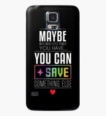 Vielleicht kannst du etwas anderes SPAREN Hülle & Klebefolie für Samsung Galaxy