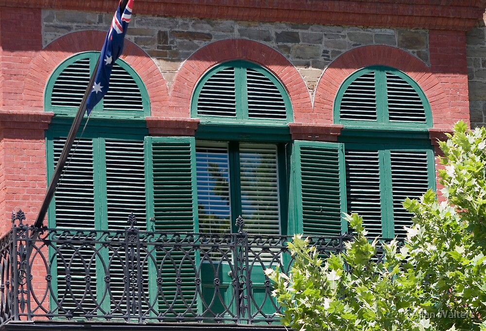 Louvered Windows by Allan Walters