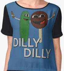 Dilly Dilly Characters Chiffon Top