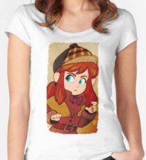 A Hat in Time: Detective Hat Kid Women's Fitted Scoop T-Shirt