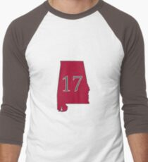 Alabama 17 national champions Men's Baseball ¾ T-Shirt