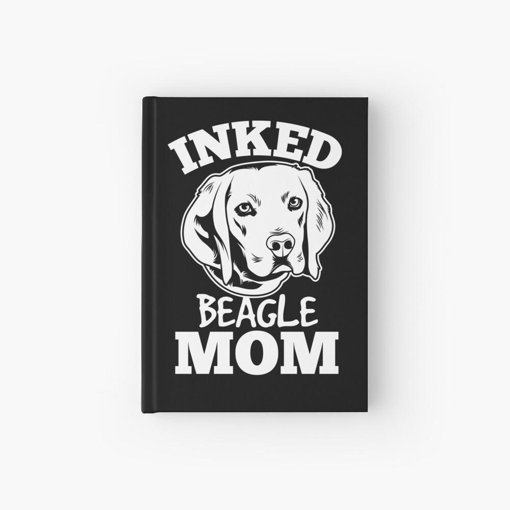 Inked Beagle Mom Cuaderno de tapa dura