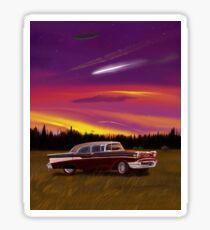 Vintage Stars Sticker