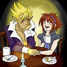 Stan and Ari's Coffee Date by Eris O'Reilly