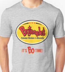 Bojangles Restaurant It's Bo Time!  Unisex T-Shirt